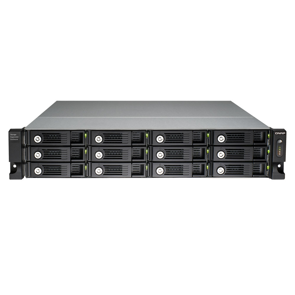 Qnap 12 bay economical raid expansion enclosure for turbo for Storage bay