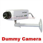 Indoor Home Fake Dummy CCTV Camera w/ No Power Required