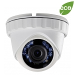 Platinum 2MP HD-TVI Outdoor Turret Camera, 2.8mm Lens, HD 1080P, Smart IR, Motion Detection, AWB, BLC, OSD, IP66 - 3 Year Warranty