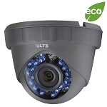 Platinum 2MP HD-TVI Outdoor Turret Camera in Black or White, 3.6mm Lens, HD1080P, Smart IR, Motion Detection, AWB, BLC, OSD, IP66 - 3 Year Warranty