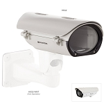 Arecont Outdoor IP67 PoE housing for MegaVideo® Cameras - Sunshield, Dual Fan, Heater