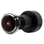 KT&C 750TVL Miniature Indoor Peephole Bullet Camera, 1.78mm Lens, Day/Night, DNR - 3 Year Warranty