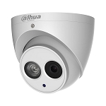 Dahua 4MP IP Outdoor ePoE Dome Camera, 2.8mm Lens, Audio, Day/Night, Weather Proof, Motion Detection, Privacy Masking, AWB, AGC, BLC, 3D DNR, IVS, True WDR, IP67 - 3 year Warranty