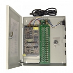 SecuNext 18 Outputs, 12 AMPS, 12VDC, Fuseless Regulated Power Supply