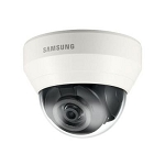 Samsung WiseNet Lite Series 2MP Dome Camera, 2.8mm Fixed Lens, Motion/Tampering Detection, Memory Card Slot, Electric Day/Night, Alarm, BLC, WDR, AGC, AWB, PoE