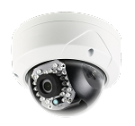 Platinum Series 2MP Outdoor Vandal Dome IP Camera, 4mm Lens, Full HD1080p, Day/Night, Onboard Storage, Vandalproof, IR, DNR, WDR, BLC, PoE, IP66 - 3 Year Warranty