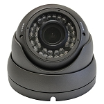 CCTVGold HD-CVI 1080P Outdoor Dome Camera in Gray or White, 2.8~12mm Varifocal HD Lens, 36pcs IR LEDs Up to 100ft, AWB, IP66, DC 12V