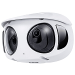 Vivotek 8MP 180º Panoramic View IR Outdoor Camera, 2.8mm Lens, Microphone, Audio, Alarm, Motion Detection, On-Board Storage, WDR Pro, AGC, AWB, BLC, DNR, IP66, IK10, PoE - 3 Year Warranty