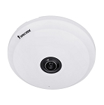 Vivotek Supreme 12MP IP Indoor Fisheye Camera, 1.29 mm Panomorph Lens, Audio, Alarm, Day/Night, Memory Card Slot, Motion Detection, 3DNR, WDR, DC12V, PoE - 3 Year Warranty