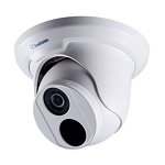 GeoVision 4MP Low Lux IR WDR Pro Outdoor Eyeball Dome, 2.8mm Lens, Day/Night, Defog, Motion Detection, 3DNR, AWB, AGC, IP66, DC 12V / PoE - 2 Year Warranty