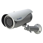 GeoVision 1MP Outdoor Fixed IR Bullet for Cloud, 2.8mm Fixed Lens, Cloud Storage, YouTube Live Streaming, Alarm, Motion Detection, MicroSD, Defog, WDR, DC 5V / PoE