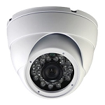 CCTV Gold 1080P 4-In-1 (AHD/HD-CVI/HD-TVI/Analog) Outdoor Dome Camera, Gray or White, 3.6mm Lens, IR LEDs, AGC, AWB, IP66 - 2 Year Warranty