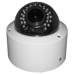 CCTV Gold 1080P 4-In-1 (AHD/HD-CVI/HD-TVI/Analog) Outdoor Vandal Dome Camera, 2.8~12mm Varifocal Lens, IR LEDs, AGC, AWB, BLC, HLC, OSD, WDR, IP68, IK10 - 2 Year Warranty
